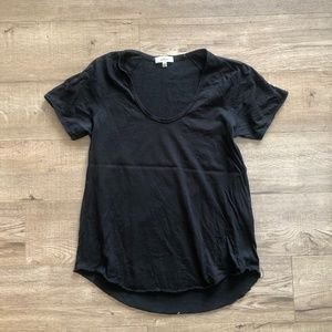 *2/$20* Wilfred Aritzia Black Scoop Neck T-Shirt
